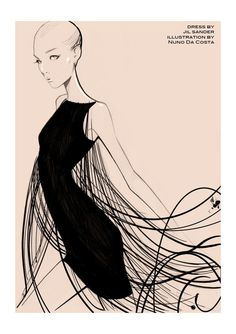 Nuno Da Costa #fashion  #illustration