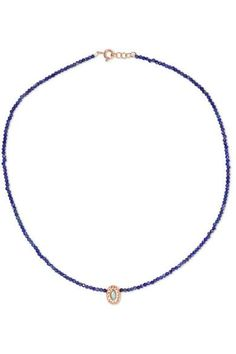 Pascale Monvoisin - Montauk N°5 9-karat Rose Gold, Lapis Lazuli, Turquoise And Bakelite Necklace - one size