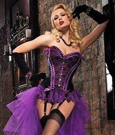 I own this and I LOVE this!!! Th equality is better than I expected!  I purchased mine from Yandy.com, but Pinterest says it was marked previously for inappropriate content.  (Who's the prude?)  Leg Avenue Burlesque Lingerie - Exquisite Valentina Corset.