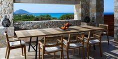 low panoramic window slot, Greece.