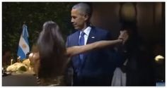El tango ameniza la cena de gala de los Obama en Argentina