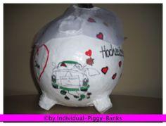 Sparschwein XXL Schwein Hochzeit Geldgeschenk Briefbox Kartenbox Box für Geld