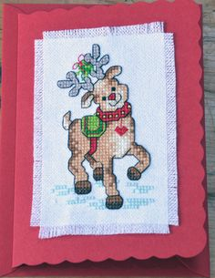 Rudolph with Heart