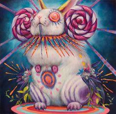 Surreal Beasts of Hannah Faith Yata art paintings bizarre artwork human women surrealism suggestivism nature