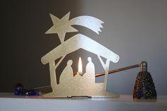 Capanna con glitter. Natale allegro e colorato, Nuovo da ORIGAMI STEEL nella categoria Arredamento e Design/Decorazioni e Accessori. Located in San Giuliano Milanese, Italia