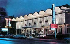 This is the Allen Hotel on West End at about 20th Ave.  My mom and I ate at their restaurant sometimes.  Reasonably priced meat and 3 - this was in the mid 1960s