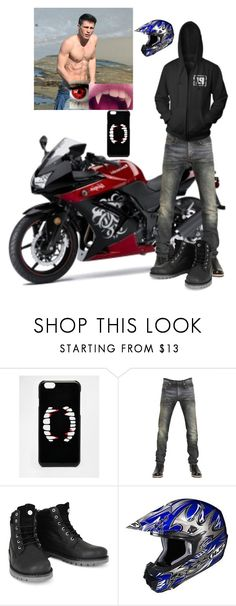 """Jace"" by superherofan ❤ liked on Polyvore featuring ASOS, Kawasaki, Christian Dior and Wrangler"