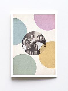 Greeting card by Sophie Klerk, 'children' Indigo Prints, Glassine Envelopes, Cellophane Bags, I Shop, Greeting Cards, Collage, Pure Products, Children, Modern