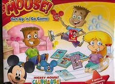 Disney Game Duck, Duck, Mouse Mickey Mouse Clubhouse New Sealed Gift Get Up Go