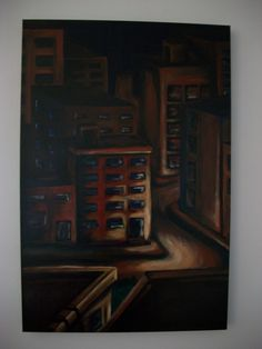 Downtown, 2009 Office Phone, Landline Phone, Paintings, Paint, Painting Art, Draw, Painting, Portrait, Resim