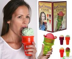 If I am ever lazy enough to need a rotating ice cream cone, please do the humane thing, and put me down.