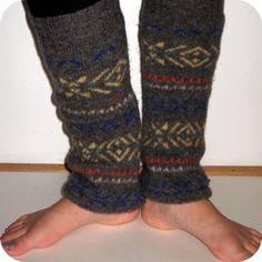 Leg warmers.  Wool.  Made from recycled wool sweater.  Ready to ship, ThoughtfulStitches
