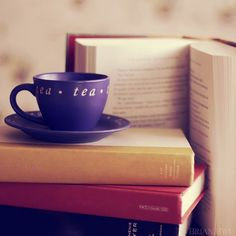 book and tea - Google Search