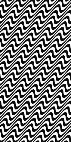 Black and white seamless angular wave pattern