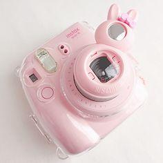 Imagem de pink, camera, and pastel