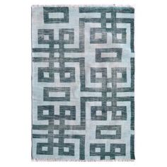 Hand knotted by master craftsmen, this outdoor/indoor area rug creates a wonderful space. Designed with long lasting high quality fibers and finished with a hand knotted fringe with bound edges.   Material:Polyester Quality: Knotted  Available as:  -5x8  -8x10