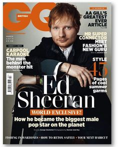 Ed Sheeran's tweet about his new GQ cover is classic Ed Sheeran