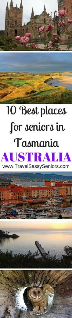 The smallest state of Australia, Tasmania is isolated from the mainland by the Bass Strait. It is an island of wonderful landscapes, rich heritage, unique wilderness and world-class food and wine. Life thrives without the presence of pollution! Tasmania is a great place for most travellers but its serenity makes it especially attractive to senior travellers.