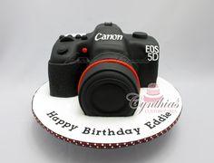 Canon Camera Cake ... www.facebook.com/Cynthias.Custom.Cakes