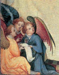 Meister der hl. Veronika: Drei Engel