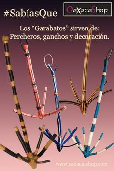 Garabatos en vez de percheros, ganchos... #Hangers #Garabatos #Ganchos #Perchero #Racks