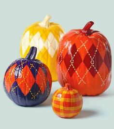 Style House & Homes: Pumpkin Decorating