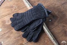 Combat Inner Leather Finger Gloves Padded Gloves Combat