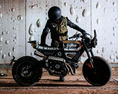 SC Rumble - Custom Ducati Scrambler by Vibrazioni Art Design