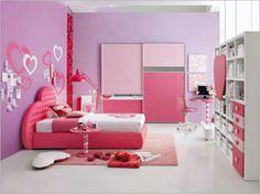 cute tween girl bedroom ideas with lively color scheme pink purple tween teen girls room. Interior Design Ideas. Home Design Ideas