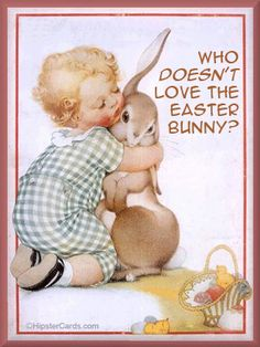 Love that Easter bunny!