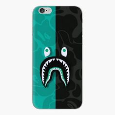 Iphone Skins, Iphone Cases, Bape Shark, Shark Art, Transparent Stickers, Mask For Kids, Glossier Stickers, My Arts, Throw Pillows