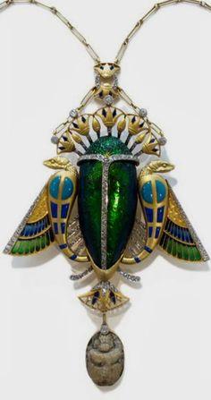 Art Nouveau Pendant by Masion Auger