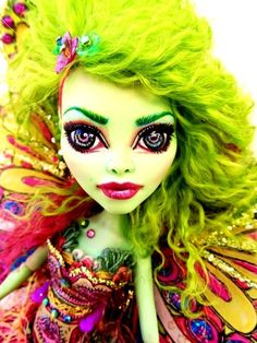 Venus Mcflytrap Custom OOAK Fairy Monster High One of A Kind Doll Makeover New | eBay