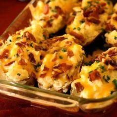 Best Recipes On Pinterest | Twice Baked Potatoes recipe | Top & Popular Pinterest Recipes | Food