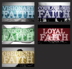 Cool idea for a series on Faith with a different focus each week - by kellymallen on flickr