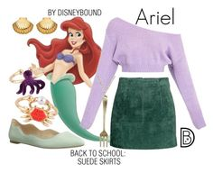 Disney Costume Earrings and necklace and skirt - Get the look! Disney Bound Outfits Casual, Cute Disney Outfits, Disney Themed Outfits, Disneyland Outfits, Disney Dresses, Cute Outfits, Princess Inspired Outfits, Disney Princess Outfits, Disney Inspired Fashion