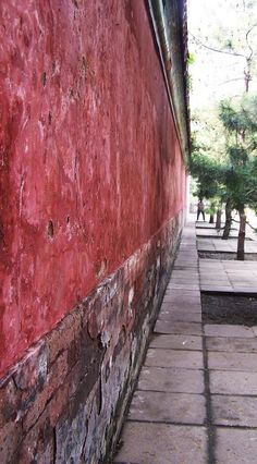 wall of the Forbidden City