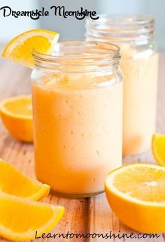 Creamsicle moonshine drink recipe