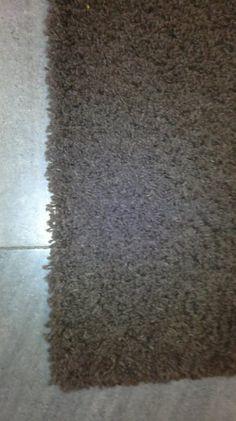 hnědý.koberec tzv.dlouhý chlup 190x133 cm-viz foto č.35.nutn - 1