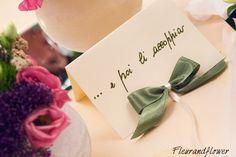 Particolare di allestimento per matrimonio