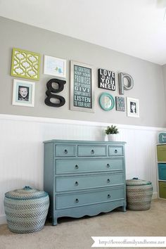Wall arrangement kids room