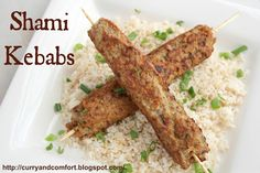 Shami Kebabs/ Seekh Kebabs - Gluten Free (using chickpea flour/besan)