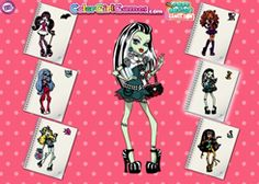 ColorearMonsterHigh.com - Juego: Colorear Monster High - Jugar Gratis Online