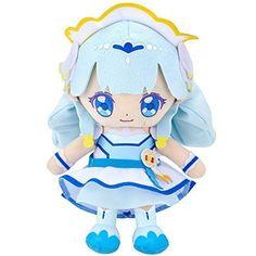New! HUG! Precure Cure Friends Plush Doll Cure Anju 2018 Blue Bandai Japan F/S #Bandai