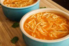 Un clásico que no te defraudará. Sopa de #fideos. #receta
