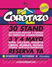 El Corotazo 4ta edición 3 y 4 de #Mayo Club Los Castores, San Antonio de los Altos