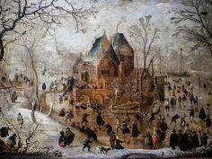 Hendrick Avercamp - Winter Landscape, 1700's at Wallraf-Richartz Museum Cologne Germany | Flickr - Photo Sharing!