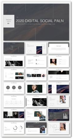 Clean & Pwerful Business PowerPoint Template – Original and high quality Power… – Nanoweb – technologie Powerpoint Design Templates, Ppt Design, Slide Design, Page Layout Design, Portfolio Layout, Portfolio Design, Branding, Template Power Point, Pamphlet Design