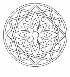 mandala coloring pages Mandala Design, Mandala Pattern, Zentangle Patterns, Mosaic Patterns, Embroidery Patterns, Zentangles, Mandala Coloring Pages, Coloring Book Pages, Coloring Sheets