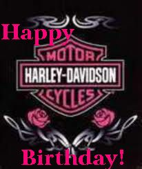Pin by sergo on girls and motorcycles pinterest happy birthday harley davidson bookmarktalkfo Image collections